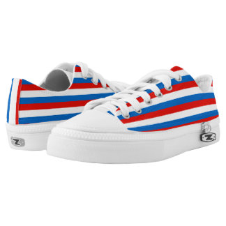 Luxembourg Flag -.png Low-Top Sneakers