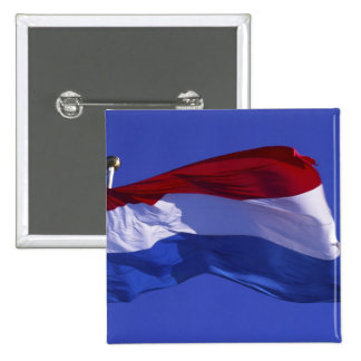Luxembourg flag RF) Button
