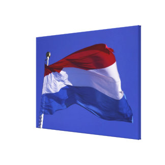 Luxembourg flag RF) Canvas Print