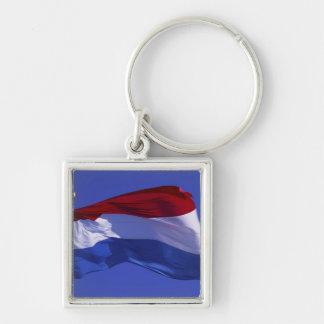 Luxembourg flag RF) Keychain
