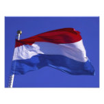 Luxembourg flag RF) Photograph