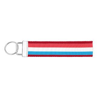 Luxembourg Flag Wrist Keychain