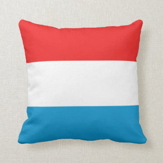 Luxembourg Flag x Flag Pillow