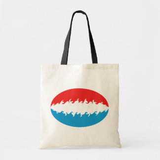 Luxembourg Gnarly Flag Bag
