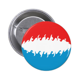 Luxembourg Gnarly Flag Pins
