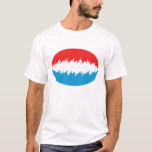 Luxembourg Gnarly Flag T-Shirt