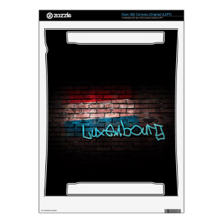 Luxembourg Graffiti Decals For Xbox 360