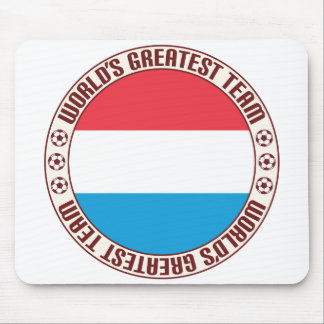 Luxembourg Greatest Team Mouse Pad