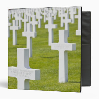 Luxembourg, Hamm. US Military Cemetery 3 Ring Binder