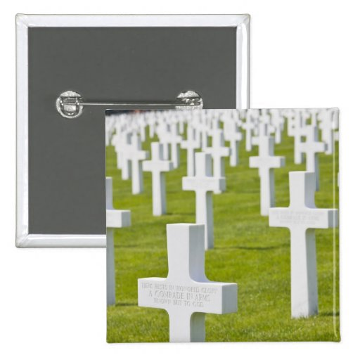 Luxembourg, Hamm. US Military Cemetery Pin