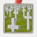 Luxembourg, Hamm. US Military Cemetery Metal Ornament