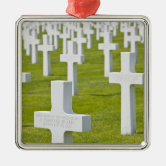 Luxembourg, Hamm. US Military Cemetery Ornaments