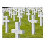Luxembourg, Hamm. US Military Cemetery Postcard