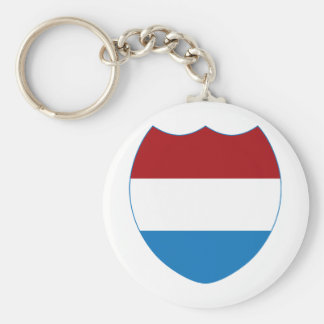 Luxembourg Keychain