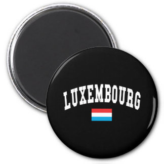 LUXEMBOURG 2 INCH ROUND MAGNET