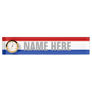 Luxembourg Desk Name Plates