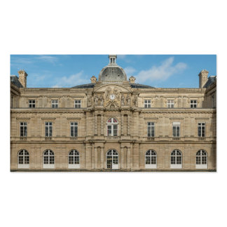 Luxembourg Palace French Senate Paris France Business Card