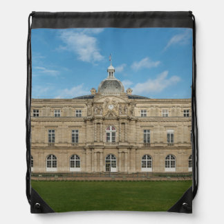 Luxembourg Palace French Senate Paris France Drawstring Bag