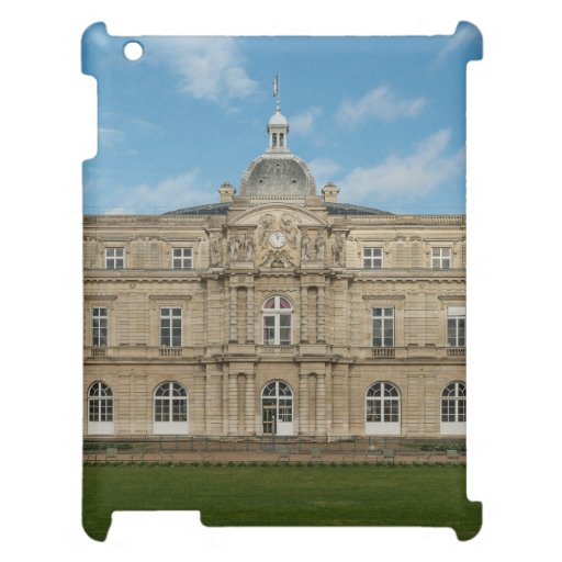 Luxembourg Palace French Senate Paris France iPad Cases