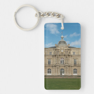 Luxembourg Palace French Senate Paris France Keychain