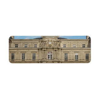 Luxembourg Palace French Senate Paris France Label