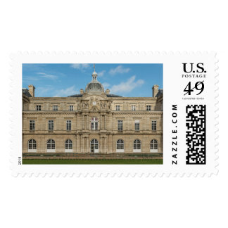 Luxembourg Palace French Senate Paris France Postage Stamps