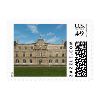 Luxembourg Palace French Senate Paris France Postage