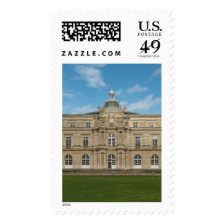 Luxembourg Palace French Senate Paris France Stamps