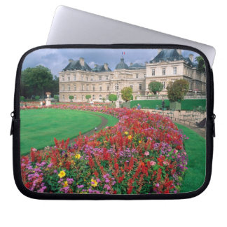 Luxembourg Palace in Paris, France. Computer Sleeves