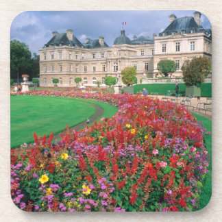 Luxembourg Palace in Paris, France. Drink Coaster