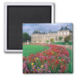Luxembourg Palace in Paris, France. Magnet