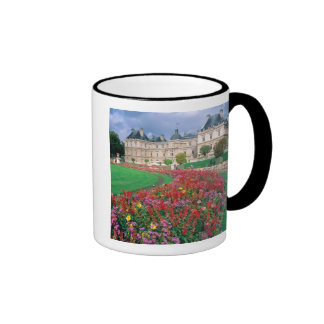 Luxembourg Palace in Paris, France. Ringer Coffee Mug