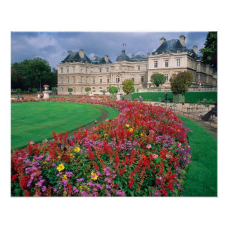 Luxembourg Palace in Paris, France. Poster