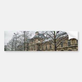 Luxembourg Palace - the seat of the French Senate Bumper Sticker