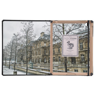 Luxembourg Palace - the seat of the French Senate iPad Folio Case