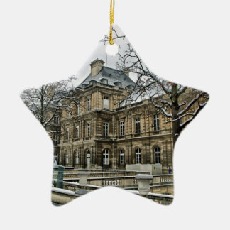 Luxembourg Palace - the seat of the French Senate Ceramic Ornament