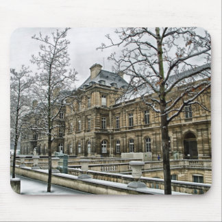 Luxembourg Palace - the seat of the French Senate Mouse Pad