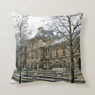 Luxembourg Palace - the seat of the French Senate Pillows