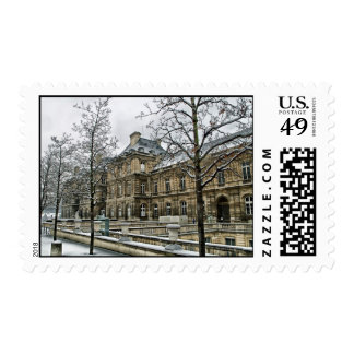 Luxembourg Palace - the seat of the French Senate Postage