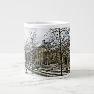 Luxembourg Palace - the seat of the French Senate Jumbo Mug