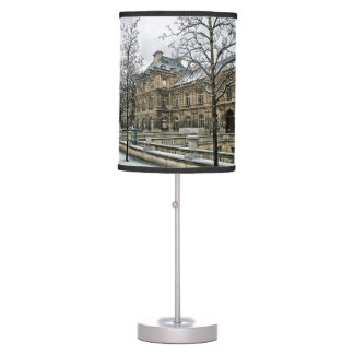 Luxembourg Palace - the seat of the French Senate Table Lamp