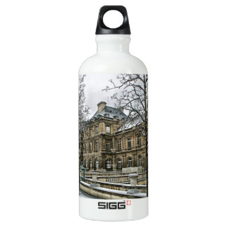 Luxembourg Palace - the seat of the French Senate Water Bottle