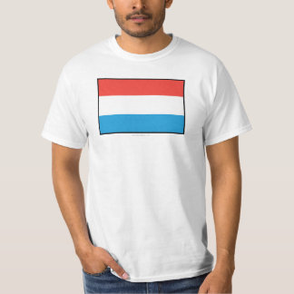 Luxembourg Plain Flag T-Shirt