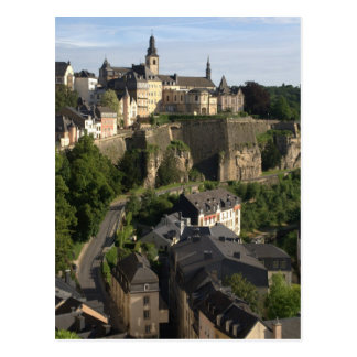 Luxembourg Postcard