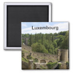 Luxembourg Ruins Magnet