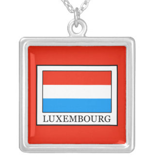 Luxembourg Silver Plated Necklace