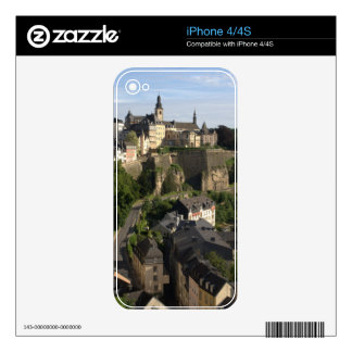 Luxembourg Decal For iPhone 4