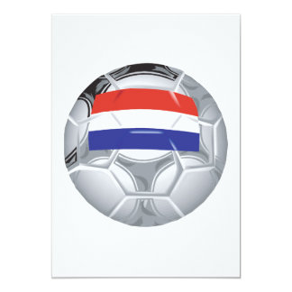 Luxembourg Soccer Ball Card
