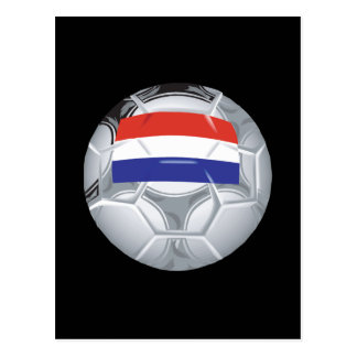 Luxembourg Soccer Ball Postcard