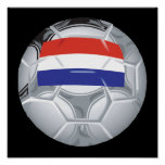 Luxembourg Soccer Ball Print